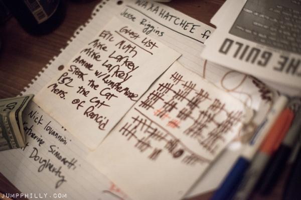 Waxahatchee's set list