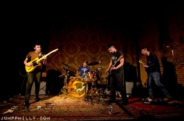Signal Hill. From left: Rish Arora, Tim Cooper, Brian Vasallo, Dave Masters.