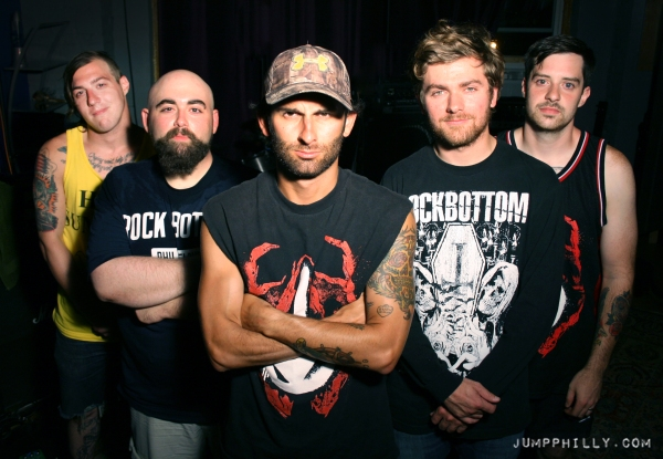 We caught up with Rock Bottom during a video shoot at Drowning Fish Studio in Port Richmond.