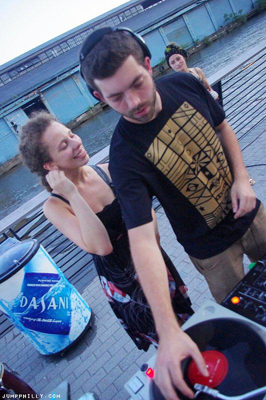 DJ Ben Arsenal from Worldtown Sound System