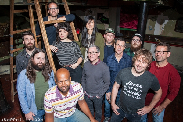 The Johnny Brenda's crew, by Michael Bucher