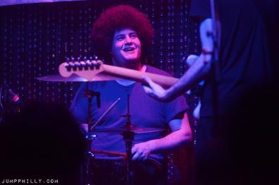 Yuck drummer Jonny Rogoff