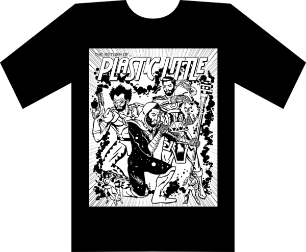 proof 7 SHIRT graphic bw