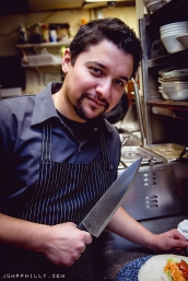 Chef/owner Alex Carbonell