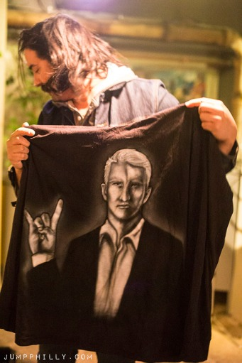 The Anderson Cooper tunic