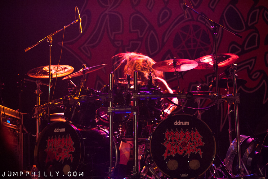 The Summer Slaughter Tour @ The Troc with Morbid Angel, Dying Fetus ...