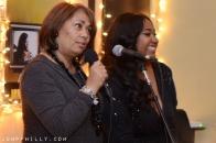 Dyana Williams with Jazmine