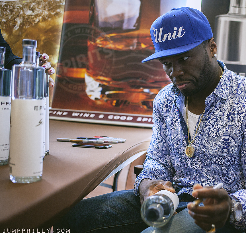 50 Cent @ Fine Wine & Good Spirits in Northern Liberties ... 50 Cent Get Rich Or Die Tryin
